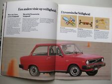 Volvo DAF 66 prestige brochure Prospekt Dutch text 22 pages 1980