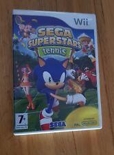 Sega Superstars Tennis Nintendo Wii game