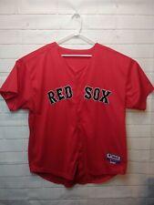 AUTHENTIC DAVID ORTIZ BOSTON RED SOX #34 Red MAJESTIC JERSEY SZ 56 / 3XL