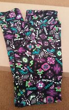 Lularoe Leggings Tween Halloween 2017 Skeleton Unicorns Skelecorns Skulls HTF