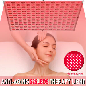 45W Anti-Aging 225 Led Therapy Panel 660nm 850nm Infrared Therapy Light Lamp .~