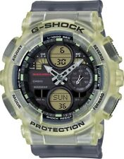 New Casio G-Shock Analog-Digital Resin Strap Unisex Watch GMAS140MC-1A