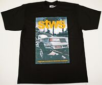 STREETWISE EURO FRONT T-shirt Urban Streetwear Tee Men L-4XL Black NWT