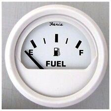 Faria Dress White Gauge 13101 Fuel Level Gauge E - 1/2 - F MD
