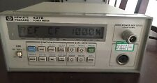 HP/Agilent 437B Power Meter 50MHz