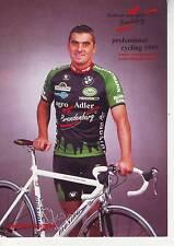 CYCLISME  carte cycliste ANDREAS KAPPES équipe RADTEAM AGRO ADLER 1999