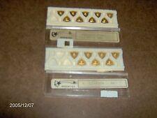 KOMET K02-8304 BK CARBIDE INSERT, 16 PIECES