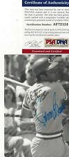 Johnny Bench Cincinnati Reds Baseball HOFer Autographed Postcard Photo PSA COA