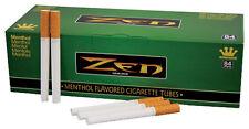 1000 (5x200) ZEN® Menthol Tubes (Hülsen, Filterhülsen, Zigarettenhülsen)