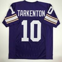 New FRAN TARKENTON Minnesota Purple Custom Stitched Football Jersey Size Mens XL