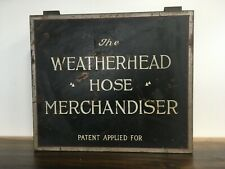 VINTAGE ANTIQUE WEATHERHEAD AUTOMOBILE HOSE FITTINGS ORIGINAL METAL BOX 1933