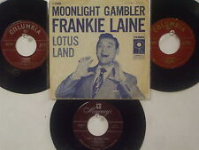 LOT OF 4  ' FRANKIE LANE ' HIT 45's+1PS       THE 50's!
