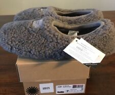 UGG AUSTRALIA BIRCHE SLIPPERS WOMENS SIZE 7*NEW* AUTHENTIC GREY 1007721