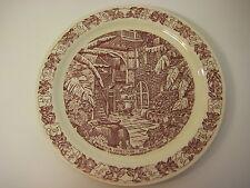"Vernon Kilns Brulatour Courtyard-New Orleans Plate, Aunt Sally's, 10 1/3"" Dia"