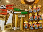 Bob the Builder 10 Tools Saw Pliers 8 Holiday Birthday Party String Light Covers