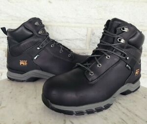 """Timberland PRO Hypercharge 6"""" Composite Toe WP Work Boots Size 12 XW A1RU5 $160"""