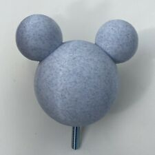 Mickey Stair Banister Head 3D Printed (In White Marble Look) Pla