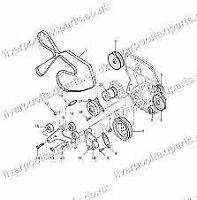 LONDON  TAXI TX2 TXII DRIVE  BELT TENSIONER PULLEY 76.2 MM NEW FITTED UP TO 04