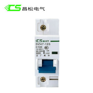 1P 2P 63-125Amp DC Circuit Breaker / Air Switch For PV & Battery 12-100VDC