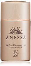 Shiseido Anessa UV Sunscreen Skin Care Milk Spf50 PA 20ml Japan