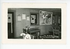 The Oxyoke Restaurant Interior WESTMORELAND DEPOT NH Rare RPPC Photo