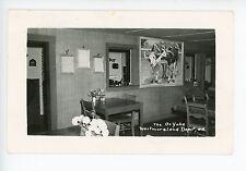 The Oxyoke Restaurant Interior WESTMORELAND DEPOT NH Rare RPPC Photo