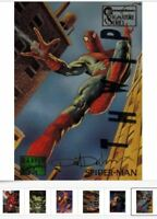 1995 Marvel Masterpieces EMOTION + CANVAS Card Singles PICK Choose Ship 25 Cents