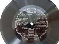 "David Bowie RECORD MIRROR flexi-disc 8, track 7"" vinyl EP LYN2929"