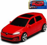 VW GOLF GTI 1:64 Scale (7 cm) Model Toy Car Diecast Cars Miniature Red