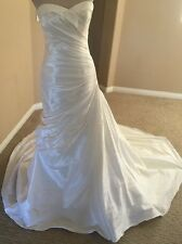 Mori Lee By Madeline Gardner Wedding Gown Bridal Dress Ivory Size 8