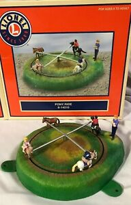 Lionel 6-14210 ~ Operating PONY RIDE ~ IN BOX