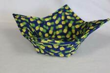New Quilted Microwave Bowl Holder Bowl Cozy Bowl Potholder Pineapple