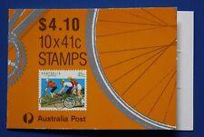 Australia (1109c) 1989 Cycling Mnh booklet