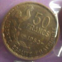 50 Francs 1953 B G Guiraud : SUP : pièce de monnaie Française N21