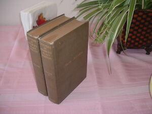 1913 2 Vol LETTERS CHARLES ELIOT NORTON Havard/Yale/Cambridge Scholar Professor