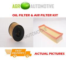 PETROL SERVICE KIT OIL AIR FILTER FOR PEUGEOT 307 1.4 88 BHP 2003-07