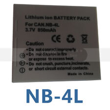 NB-4L Battery Pack for Canon PowerShot SD780 SD30 SD750