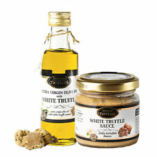 White Truffle Extra Virgin Olive Oil and Gourmet Sauce White Truffle