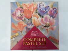 Winsor & Newton Soft Pastel Complete Set  Pastels, Artists pad, Rubber, NEW