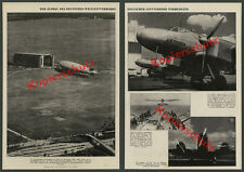 Zeno Diemer Zeppelin World Airport Frankfurt Empire motorway Ju 86 Lufthansa 1937