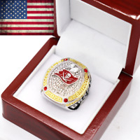 2020 Tampa Bay Buccaneers Championship Ring #BRADY Super Bowl LV Size 6-15 New