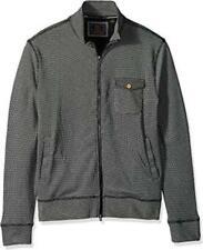 Vintage 1946 Men's Full Zip Cardigan Sweater Charcoal Size Medium M