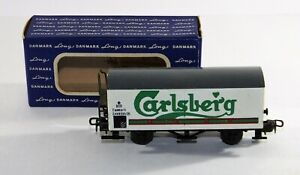 "Rolling Stock  DSB CARLSBERG refrigerated bear wagon   ""BOXED""   00 Gauge  122"