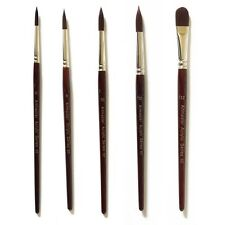 Artmaster Acrylic Artists Short Handled Individual Paint Brushes - Assorted Size