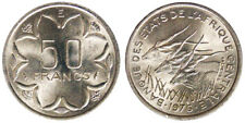 50 Francs 1976 E Central African States #3790A