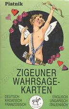 DIVINATION CARDS GIPSY CARD DECK - ZIGEUNER - 6 LANGUAGES #120