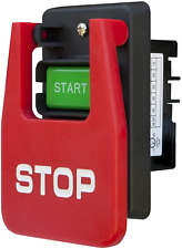 Emergency Stop Paddle Switch Dual On Off Power Safety Motors Machine 110v 220v
