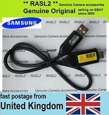 Genuine Samsung USB Cable ST50 ST500 ST5000 ST55 SL420 SL620 SL310 WB500 WB550