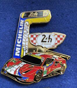 Pin's Ferrari Le Mans