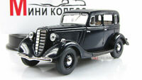 Scale model car 1:43 GAZ-M1, dark blue 1938